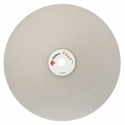 """8"""" inch Grit 2000 Diamond coated Flat Lap Disk Grinding Polish wheel Very Smooth"""