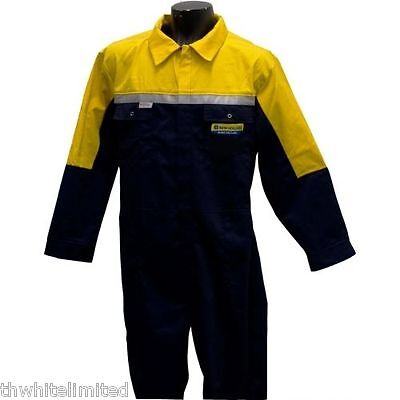 New Holland Overalls New Holland Boilersuit Adult Nha1049Xnvye (Ch)