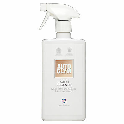 AutoGlym Leather Cleaner Upholstery Cleaner 500ml Bottle WITH FREE POSTAGE