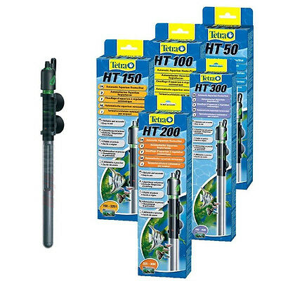 Tetra Tec Aquarium Submersible Tropical Heater Thermostat Fish Tank Water