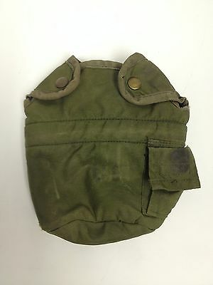 US Military 1QT ALICE Canteen Pouch Alice Clips Canteen Cover OD Green GC