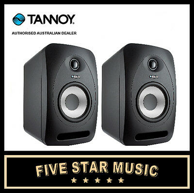 "Tannoy Reveal 502 Active Studio Monitor Pair 5"" New Australian Power Reveal502"