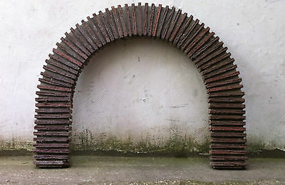 cheminée fireplace french 50' jean royere design deco 1950 rare