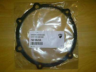 Genuine Ducati Spare Parts Dry Clutch Cover Rubber Gasket, 748 916 996 749 1098