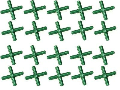 20x Air Line Cross Connectors Crosses For Joining Aquarium Airline x20