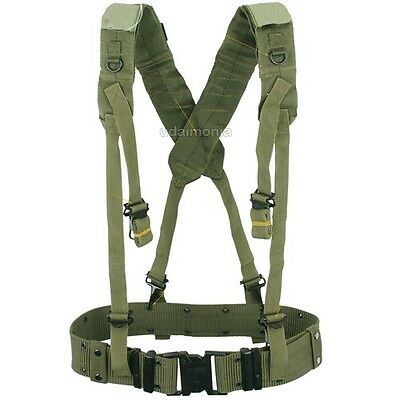 top-rated cheap pretty nice numerousinvariety MENS MILITARY ARMY Style LC2 X Back Suspenders Utility Web ...