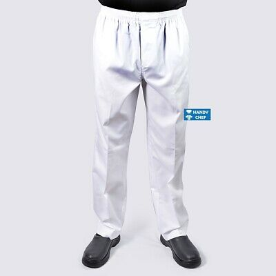Premium Quality Chef / Cook/  Baker Pant - White Chef Pant - Free Postage