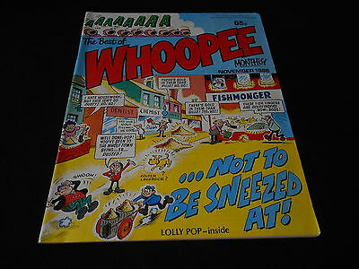 Whoopee Comic Monthly November 1988
