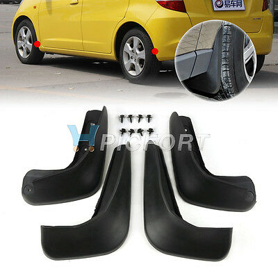 Splash Guards Mud Flaps Mudguard for Honda Fit/Jazz 2008 2009 2010 2011 2012