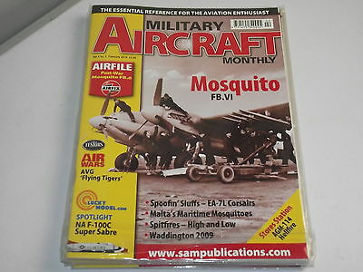 Military Aircraft Monthly 2010 Feb - Airfix Mosquito FB.6 Profile, F-100C Sabre