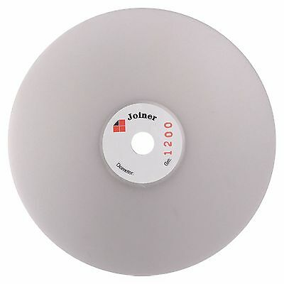 "6"" inch Grit 1200 Fine Diamond coated Flat Lap Disk Grinding Polish wheel Smooth"