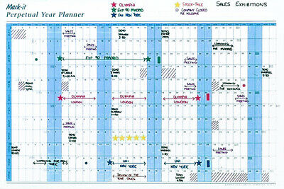 Perpetual Year Planner For Business
