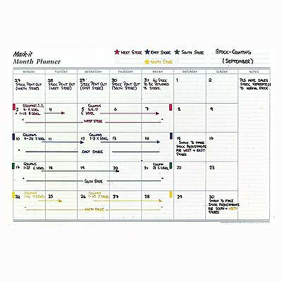 Monthly Planner For Business