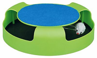 Catch the Mouse Cat Toy with Scratching Mat Cats Kittens Play Toy