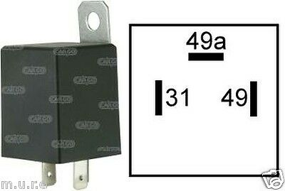 Electronic Flasher Unit Relay Indicators 6V For Light Turn Signal 3 Pin 160651