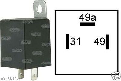 Flasher Relay Indicators 6V 42W For Light Turn Signal 3 Pin Cargo 160651