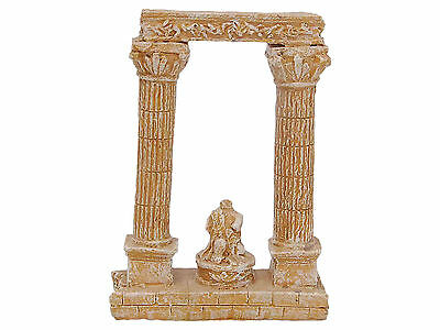 Ancient Roman Columns Aquarium Ornament Fish Tank Decoration