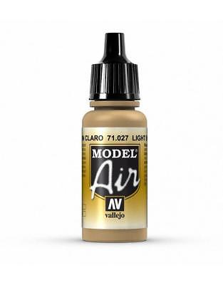 AIRBRUSH PAINT VAL027 - AV Vallejo Model Air - Light Brown