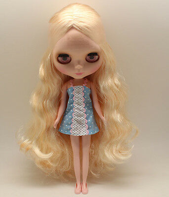 Victorian Blythe Nude Doll from factory w//stand