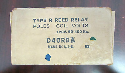 REED RELAY POWEREED Relay D40RBA 120V