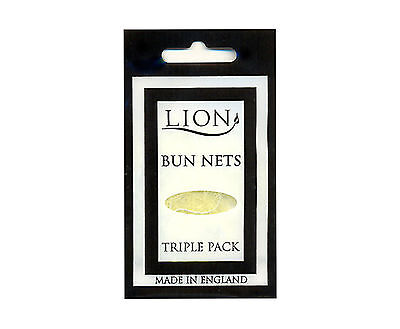 BUN NETS x 30, TEN Triple Packs, Lion Hair Care, Best Quality, ALL 7 COLOURS.