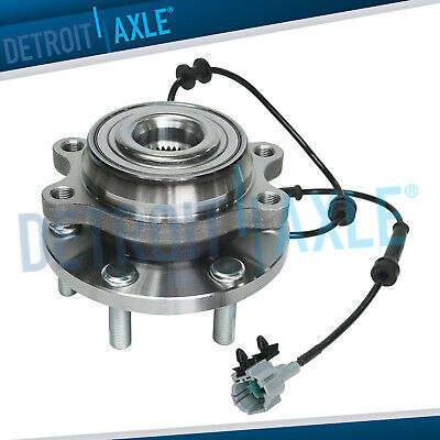 New Front Wheel Hub and Bearing Assembly For Nissan Frontier 4WD w/ ABS 6 Lug
