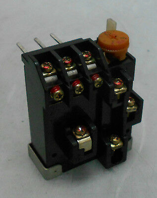 Mitsubishi TH-12 Overload Relay, 5 - 8 A Range, Used, WARRANTY