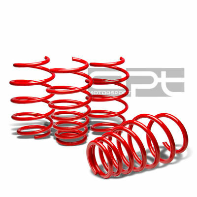 For 06-12 Toyota Yaris/vitz Xp90 Coil Suspension Red Racing Lowering Springs