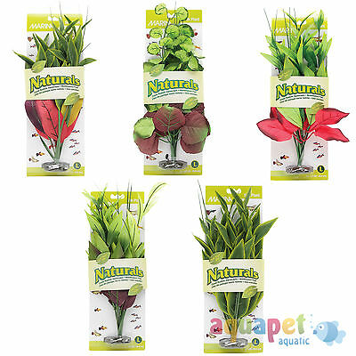 Marina Naturals Aquarium Silk Plants Small Medium Large X-Large