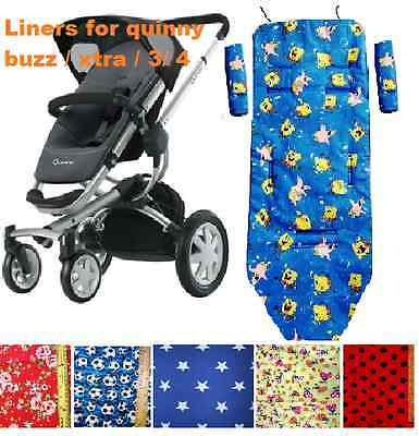 Buggy Liner fit for quinny buzz, buzz xtra, quinny buzz3 and quinny buzz 4
