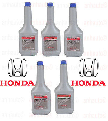 5-12oz Bottles (5-Bottles)   Genuine Honda Power Steering Fluid