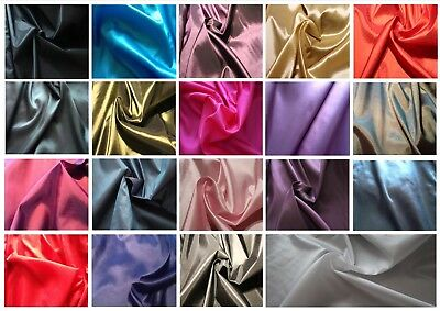 "Two-tone / single-tone Taffeta faux silk dress fabric; 1.48m / 58"" wide"