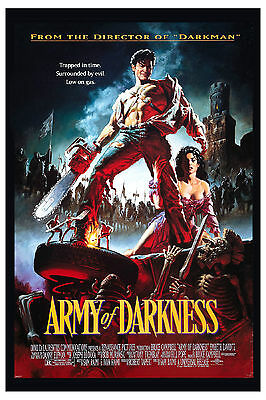 Horror: * Army of Darkness  * Bruce Campbell USA  Movie Poster 1992