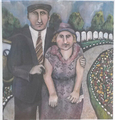 """Limited Edition Lithograph """"Jack an Mamie""""  Susan Gardner signed and numbered"""