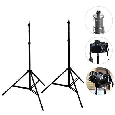 2.2m Photography Softbox Umbrella Video Light Stand Studio For Softbox Light Kit