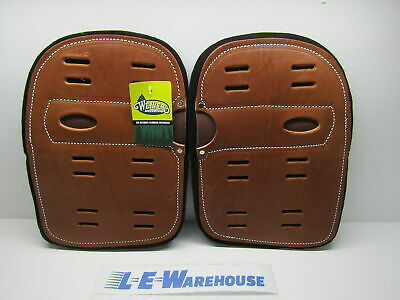 1 Pair Weaver Leather Super Climber Pads Arborist Lineman 08-97157
