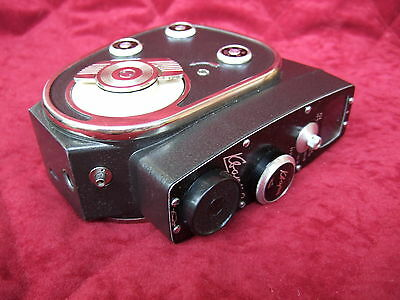 Soviet Movie Camera Quartz Quarz-2 2x8 Leather Case Manual 1966 excellent cond.