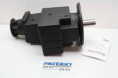New Lenze GST07-3NVCK-4C Heavy Duty Servo Grade Helical Gear Head 326.33:1 Ratio
