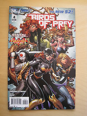 Birds Of Prey   # 4.  1st  PRINT.   THE NEW 52.  DC. 2012.  Batman