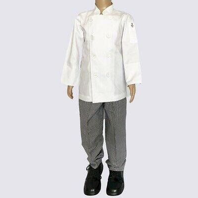Kids Chef Jacket and Chef Pant  - Kids Chef Costume - Premium Quality