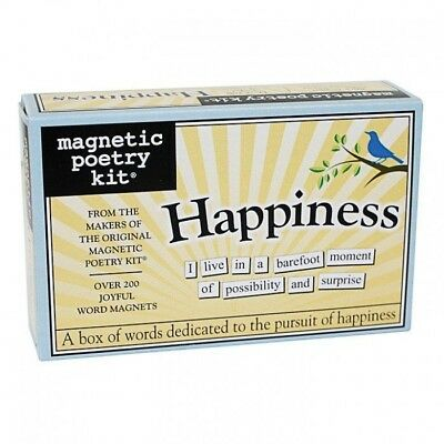 Fridge Magnetic Poetry Kit - Happiness | magnet magnets words letters scrabble