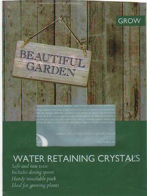 110G For 120L Compost Water Retaining Gel Crystals Watering For Hanging Baskets