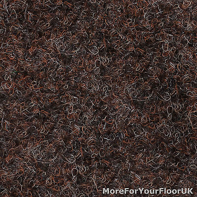 Autumn Brown Extra Heavy Contract Carpet, Gel Backing, Hard Wearing, Heavy Duty
