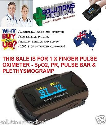 Pulse Oximeter Finger Tip Measurements Pulse Rate Oxygen