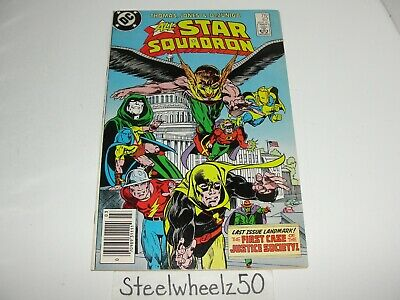 All Star Squadron #67 Comic DC 1987 JSA First Justice Society Of America Case