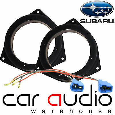 "SAK-2820 Subaru Impreza WRX 1993-2004 Front Door Car Speaker Adaptors 5.25"" 13cm"