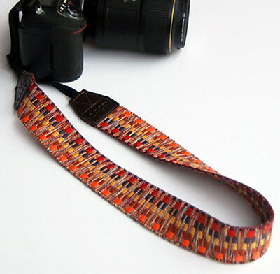 Vintage Camera Shoulder Strap Neck Belt Hand Grip For DSLR SLR Canon Nikon Sony