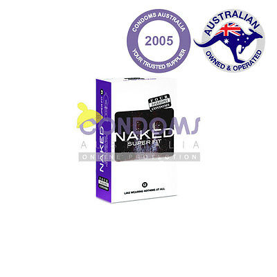 Four Seasons Naked Super Fit / Sport Condom (12 Condoms) Loose Pack