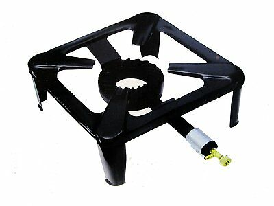 New Cast Iron Large Gas LPG Burner Cooker Gas Boiling Ring Restaurant Catering