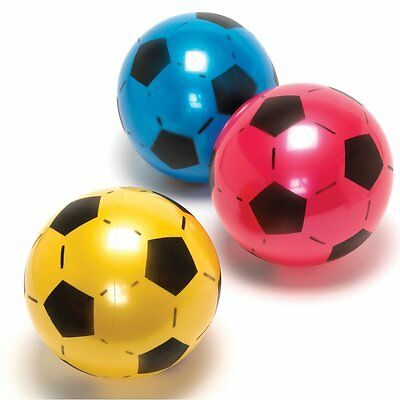 """BRAND NEW PLASTIC FOOTBALL 10"""" FLAT UN-INFLATABLE - Multy Quantity Unbranded"""